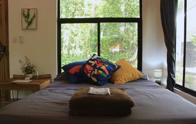 Photo for Boutique Villa Tucan: Spacious, Modern in the Jungle y breakfast