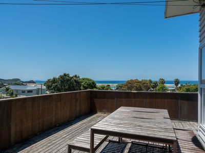 Photo for Sandbar - Classic kiwi bach with stunning views