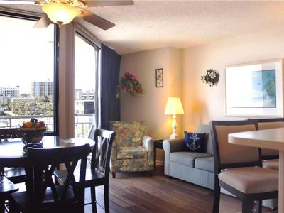 Photo for Ocean views of the beach! Meridian Plaza 508: 1 BR / 1 BA condo in Myrtle Beach