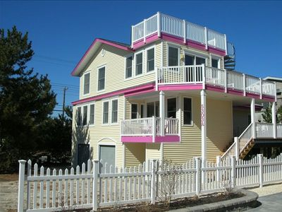 Photo for Harvey Cedars Oceanside on Private Drive with Ocean Views. 50 yards to the beach
