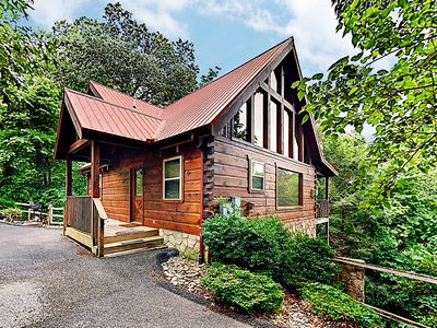Photo for 'Up & Away' All-Suite Mountain Retreat w/ Hot Tub & Game Room - Near Downtown