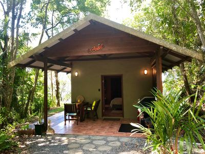 Photo for Gunnadoo - Ocean View Hut with jacuzzi private rainforest setting