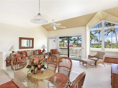 Poipu Newly Remodeled Ocean View A/C Living Room & Master *Manualoha 404*