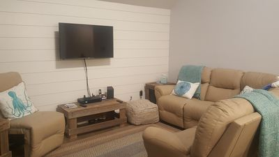 Photo for Newly renovated townhouse, New SeAsbury. On golf course, Minutes from beach