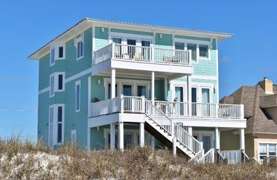 Photo for Custom Gulf-Front w Heated Pool & Elevator, 'Endless Summer' is great!