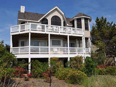 Photo for Sound Relief: 5 BR / 5 BA house in Nags Head, Sleeps 12