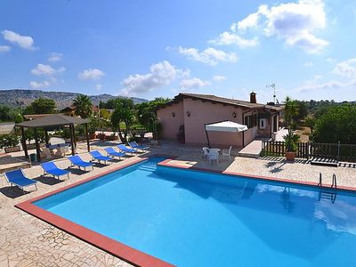 Photo for Cefalino Holiday Home, Sleeps 6 with Pool, Air Con and WiFi