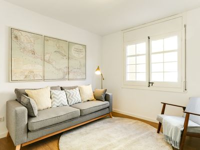 Photo for Fantastic 2bed flat well connected to all BCN