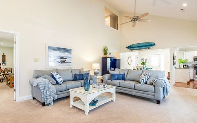 Photo for Cozy and Clean, Ground Level, Professionally Decorated, Beach/ Sound Access