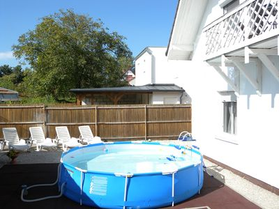 Holiday apartment with table tennis and pool