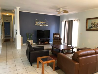 Photo for Quiet neighborhood/ pets friendly? fenced in / close to beach