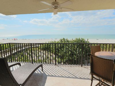 Photo for Beachfront Poolside End Unit With Amazing Gulf Views