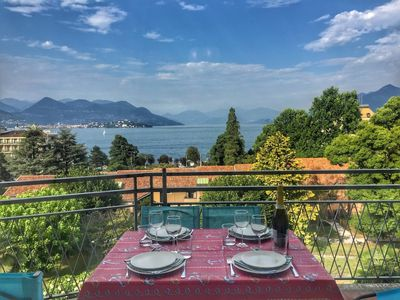 Photo for Bella apartment in the center of Stresa