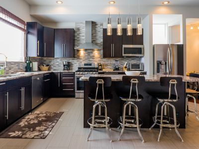 Photo for Sophisticated 3-Floor, 4BR, 3.5 BA CWE Town House