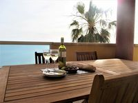 Location excellent if you want a beach and sea holiday! Apartment accommodation very spacious.