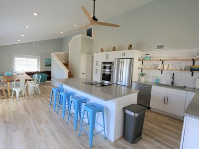 Photo for Only 1 weekend available 'till August!  - Walk to the beach, Sleeps 12!