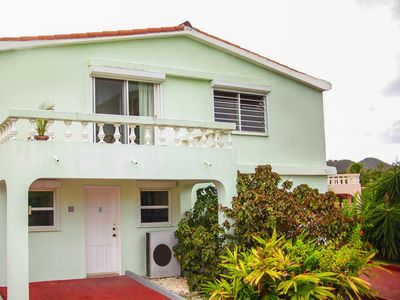 5 Star Waterfront Villa located in Jolly Harbour 2 minutes walk from the beach.