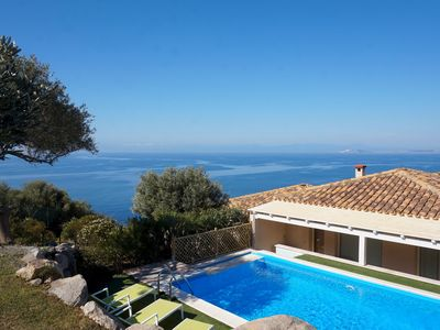 Photo for New listing! South Sardinia luxury villa with private pool and the best sea view