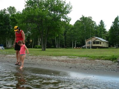 Photo for Lakeshore Cottages - Comfortable beachfront cabins on the shores of Moosehead L