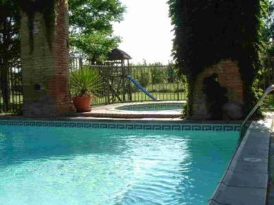 Photo for Beautiful 19th century Manor House, with swimming pool and jacuzzi