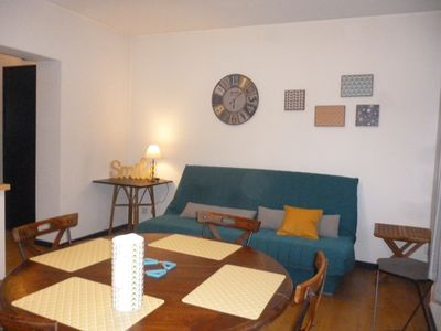 Photo for bright apartment with parking very near Thonon center of Spa