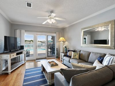 Photo for Dolphin Harbor 1B: 3/3 River-front condo with beach access, boat slip, & pool!