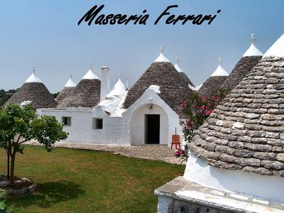 Photo for Holidays in an Apulian trulli farmhouse in Martina Franca (TA) Apulia