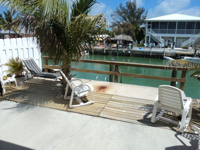 Relax at your private dock