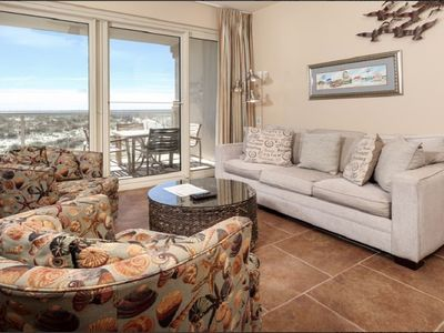 Photo for Beautiful 2bed/2bath Beach Front Condo - Spectacular Views - 2 Heated Pools