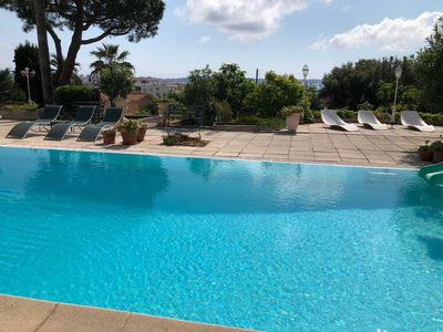 "Photo for Independent studio ""les Orangers"" + terrace in villa 10 mins walk from the beaches"