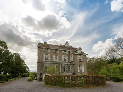 Photo for Beautiful manor house in a park near Rochefort and Han-sur-Lesse