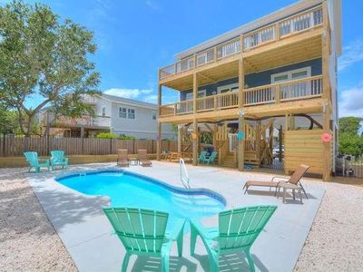 Photo for BRAND NEW OCEAN VIEW 5 BR/3.5 BA HOME with PRIVATE POOL-SLEEPS 16
