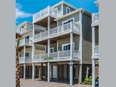 Photo for SUMMERTIME'S CALLIN', 5 BR/ 4 BA, Ocean View, Surf City, Sleeps 11, Elevator