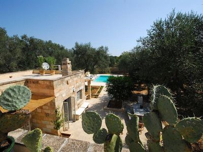 Photo for Villa with swimming pool in the centuries-old olive groves of Salento