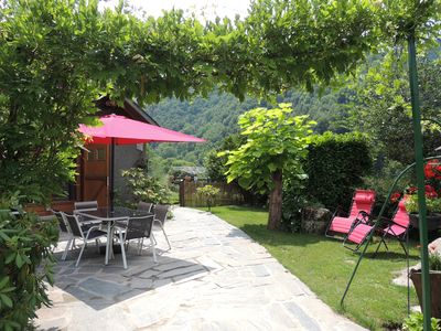 Photo for charming cottage at 900 m above sea level and 15 minutes from the ski resort Le Mourtis