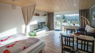 """Photo for Non smoking holiday apartment """"Am Wiesenhügel"""" for 1-3 persons"""