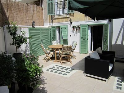 Photo for 40 sq.m. terrace in the heart of Nice