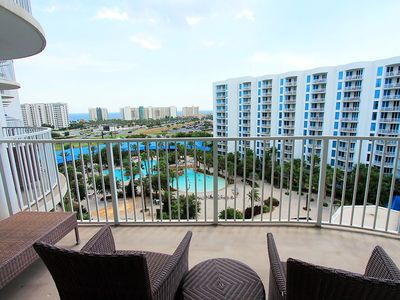 Photo for Palms Resort 1901 Full 2BR/2BA ☀Aug 23 to 25 $619 total!☀Lagoon Pool - FunPass!