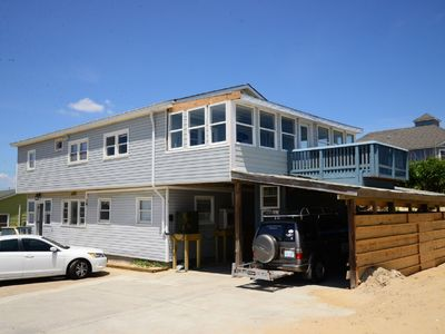 Photo for Oceanside Duplex just steps away from the beach - 156