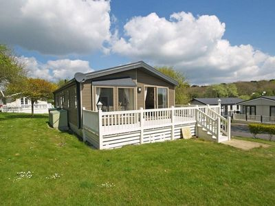 Photo for Superb Lodge on 5* Shorefield Country Park  (access to pools included in price)