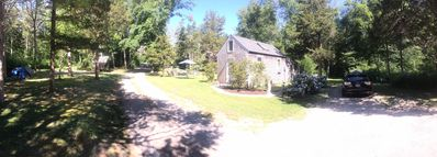 Photo for MERMAID COTTAGE quintessential New England experience. Stand alone Cottage with lots of privacy.