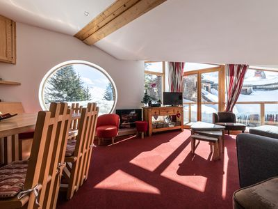 Photo for 180m2 LUXURY CHALET, PANORAMIC VIEWS, SPA,CLEANING INCLUDED IN CENTRE OF AVORIAZ
