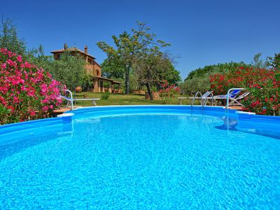 Photo for Private Villa with private pool, hot tub, WIFI, TV, patio, pets allowed, panoramic view, parking