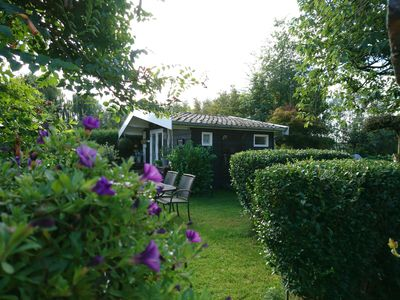 Photo for Cosy private cabin w/breakfast in Dutch countryside,  one hour from Amsterdam!