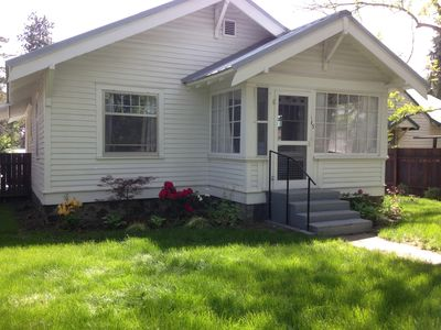 Photo for LOCATION: quiet and central! Cottage In The Heart Of Historic Downtown Bend!