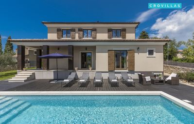 Photo for Holiday Villa Dante for 8-10 people with 4 bedrooms