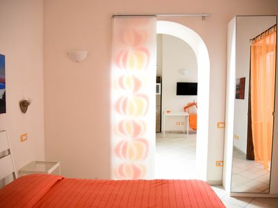 Photo for Bright and modern apartment in downtown Lipari