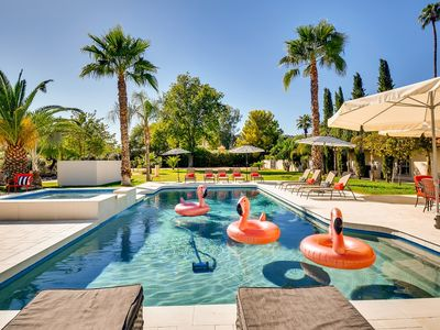 Photo for PARADISE VALLEY 7BR/4BA ESTATE WITH HEATED POOL- SLEEPS 20!