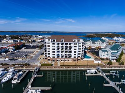 Photo for Morehead City Waterfront Dockside Retreat