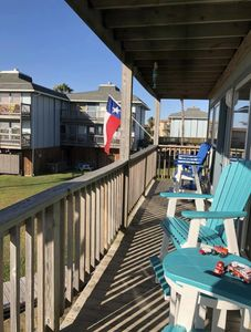 Photo for 2/2 spacious condo in a nice beachfront complex, Heated Pool!